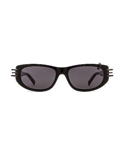 Открытые домашние черные солнцезащитные очки Givenchy