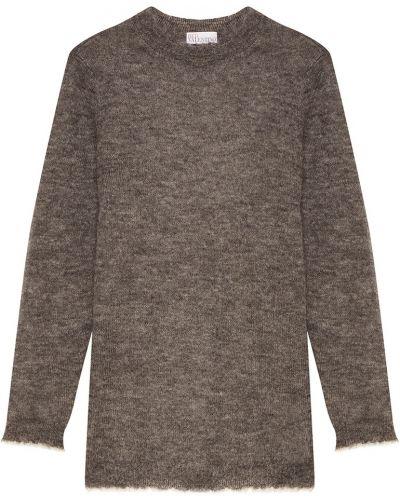 Вязаный свитер свободного кроя из мохера Red Valentino