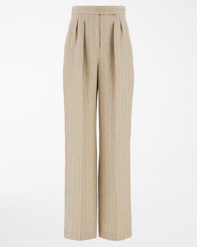 Бежевые брюки Maxmara