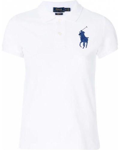 Biała koszulka krótki rękaw Ralph Lauren