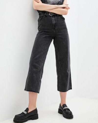 Черные джинсы клеш расклешенные Miss Bon Bon
