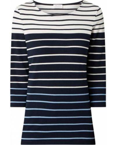 Niebieska bluzka w paski bawełniana Gerry Weber