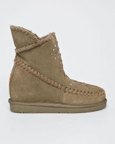 Кожаные сапоги зимние на каблуке Gioseppo