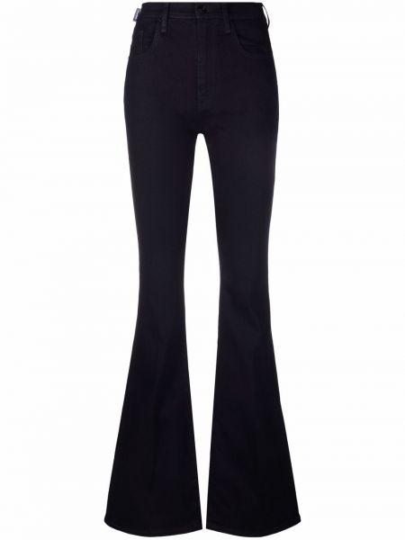 Классические брюки с завышенной талией - синие Jacob Cohen