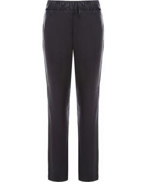 Кожаные брюки - черные Hugo Boss