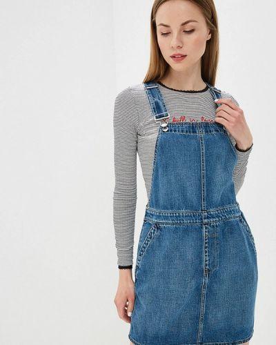 Джинсовое платье синее Gap