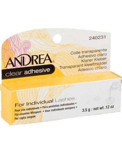 Клей для накладных ресниц прозрачный Andrea
