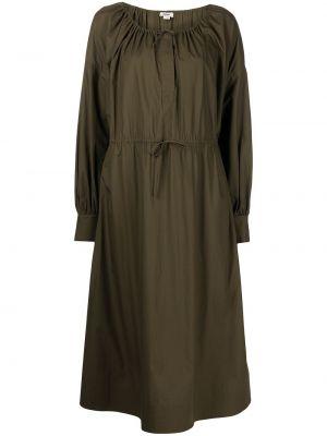 Платье макси длинное - зеленое Jason Wu