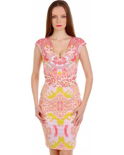 Платье весеннее розовое Roberto Cavalli