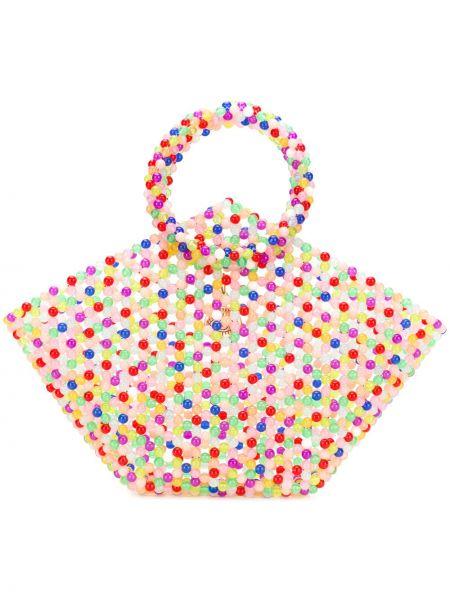 Розовая сумка-тоут Susan Alexandra
