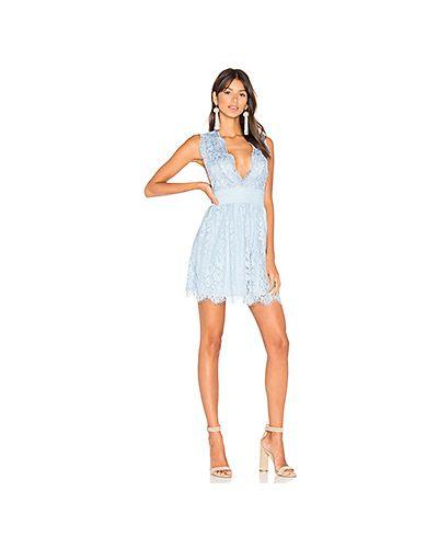 Облегающее платье с бахромой ажурное Majorelle