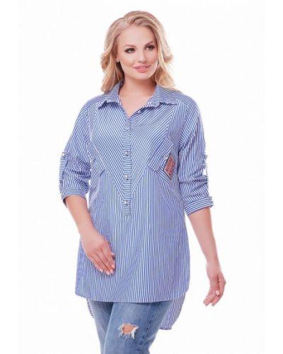 Блузка - синяя Vlavi