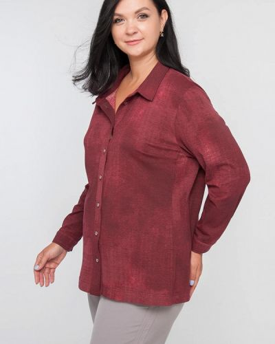 Рубашка - бордовая Лимонти