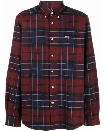 Красная рубашка с воротником Barbour
