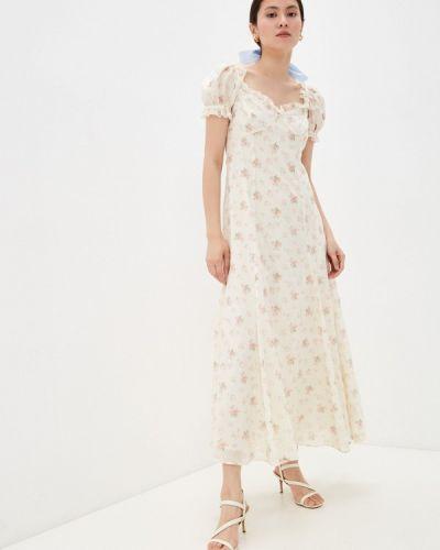 Платье - бежевое Polo Ralph Lauren
