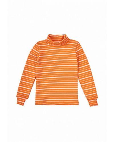 Оранжевый свитер фламинго текстиль