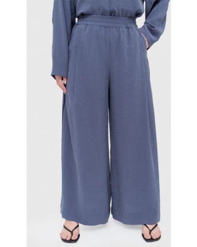 Широкие брюки - синие W&b