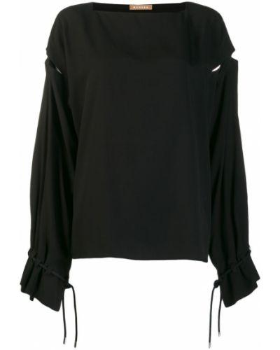 Блузка с длинным рукавом в полоску батник Nehera