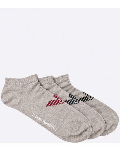 Серые носки Emporio Armani