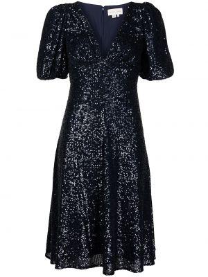 Синее расклешенное платье Sachin & Babi