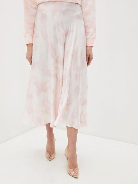 Розовая джинсовая юбка с рукавом 3/4 Guess Jeans