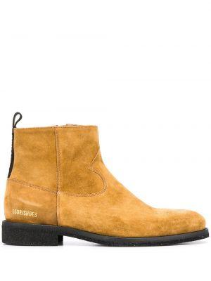 Buty kowboj brązowe Golden Goose