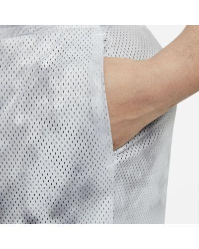 Szare szorty z printem Nike
