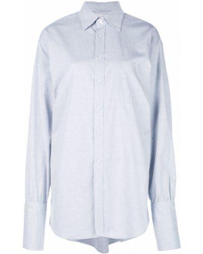 Рубашка с длинным рукавом с карманами свободного кроя Dresshirt