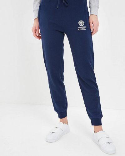 Синие спортивные брюки Franklin & Marshall