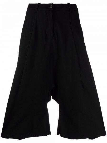 Черные брюки из спандекса Masnada