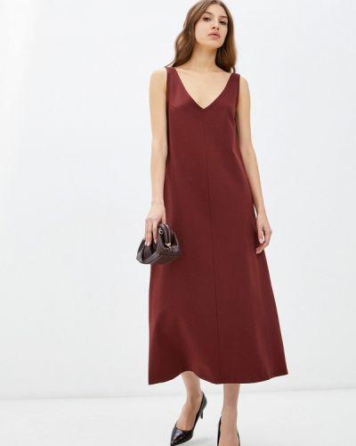Платье-майка - коричневое Vivostyle