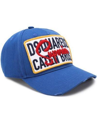 Синяя бейсболка Dsquared2