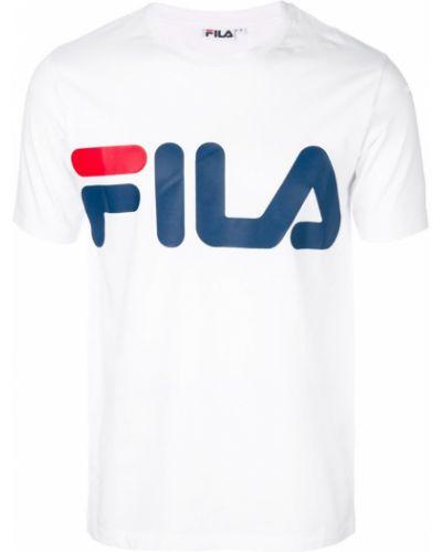 Футболка с логотипом хлопковая Fila