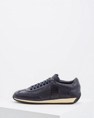 Синие кроссовки низкие Fabi