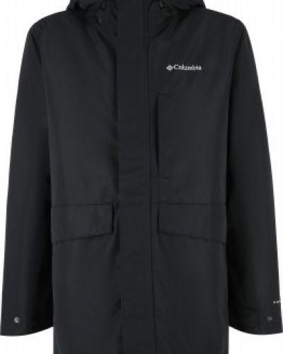 Черная утепленная куртка Columbia