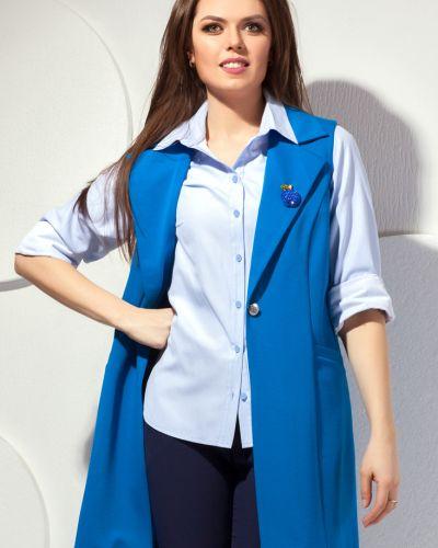Модная жилетка с карманами без рукавов Modellos