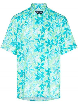 Niebieska klasyczna koszula Vilebrequin