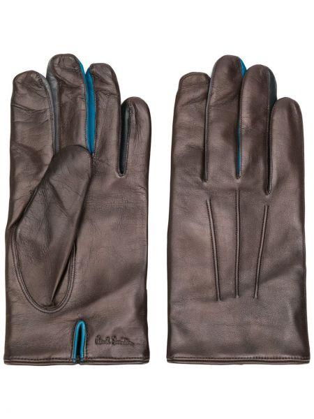 Skórzany rękawiczki klasyczny Paul Smith