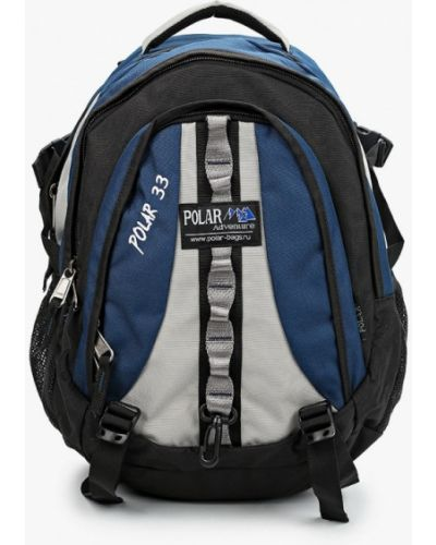 Синий текстильный рюкзак Polar