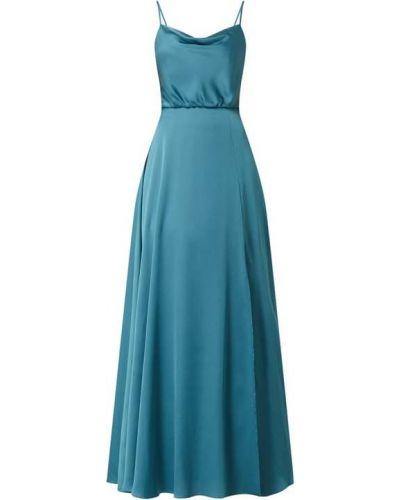 Niebieska sukienka koktajlowa rozkloszowana Jake*s Cocktail