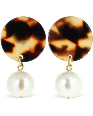 Kolczyki sztyfty perły Aym