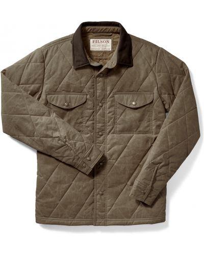 Zielona kurtka pikowana Filson
