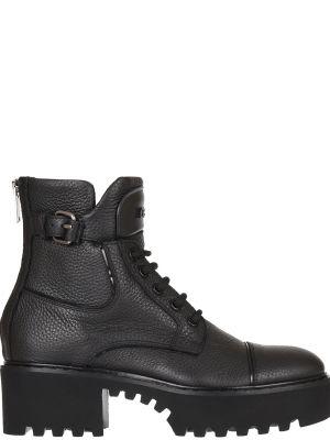 Ботинки на каблуке осенние кожаные Iceberg