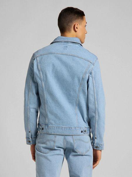 Джинсовая куртка - голубая Lee