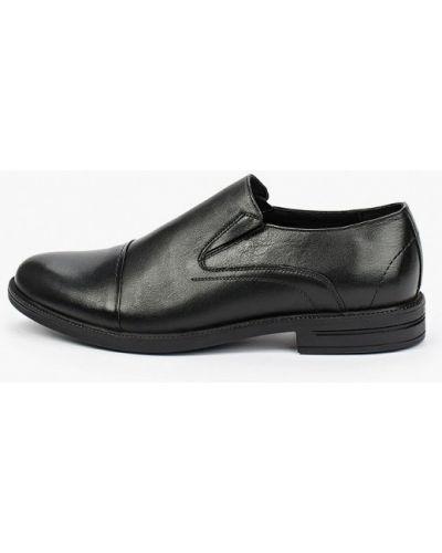 Черные туфли осенние Salamander