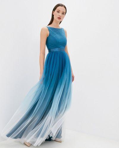 Вечернее платье - бирюзовое Seam