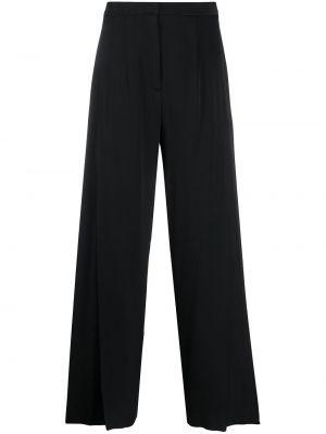 Czarne spodnie z wysokim stanem Kirin