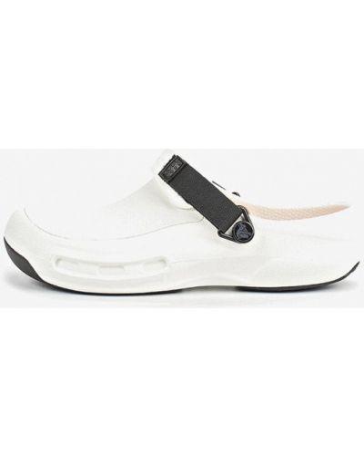 Сабо белые Crocs