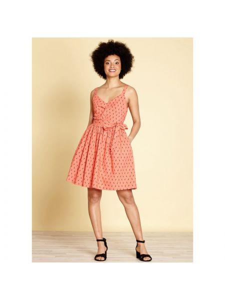 Платье мини миди расклешенное Yumi