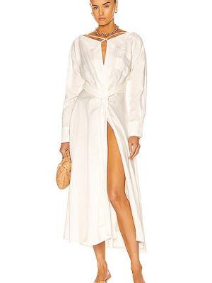 Льняное платье - белое Cult Gaia